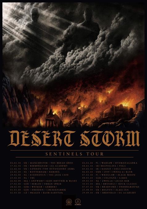 desert storm sentinels tour