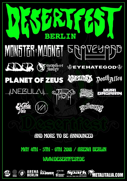 desertfest berlin 2018 poster