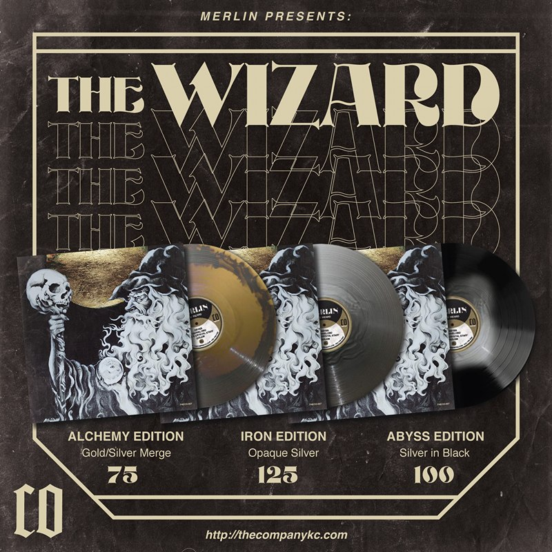 merlin the wizard vinyl