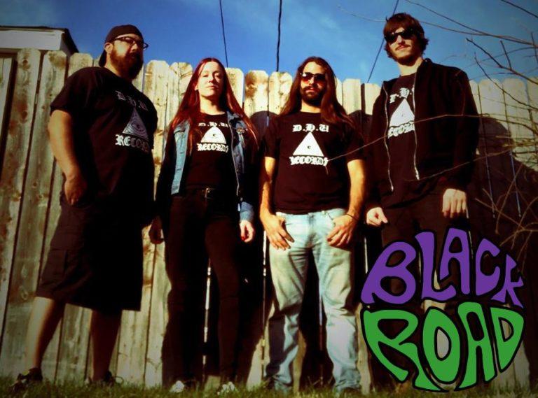 black road