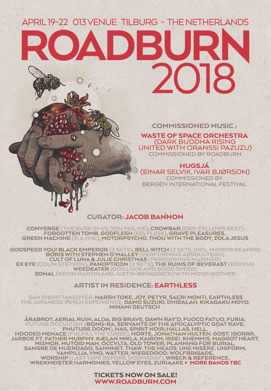 roadburn 2018 new flyer