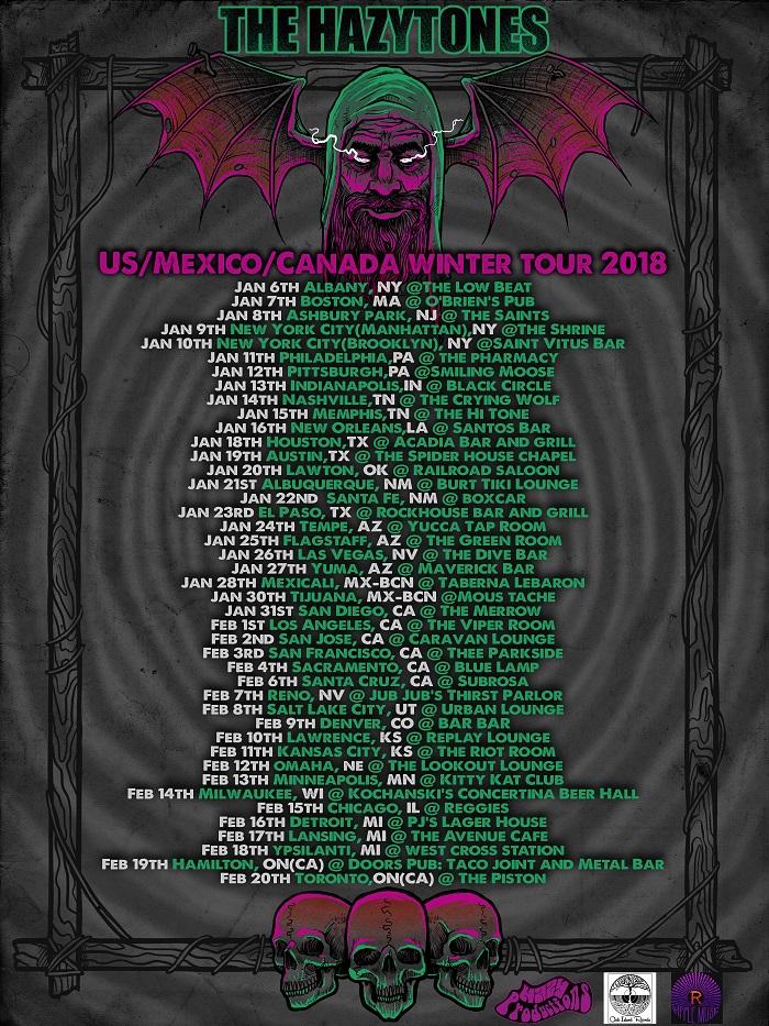 the hazytones tour