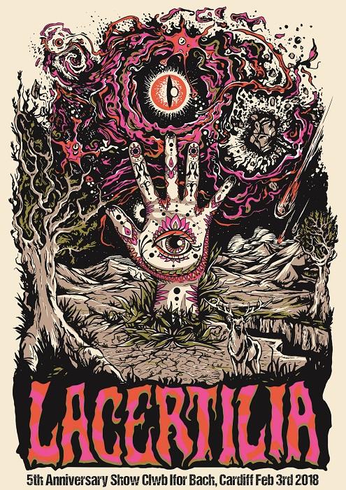 lacertilia anniversary show