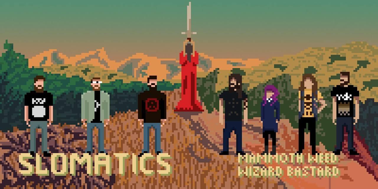 mammoth weed wizard bastard slomatics totems 8-bit