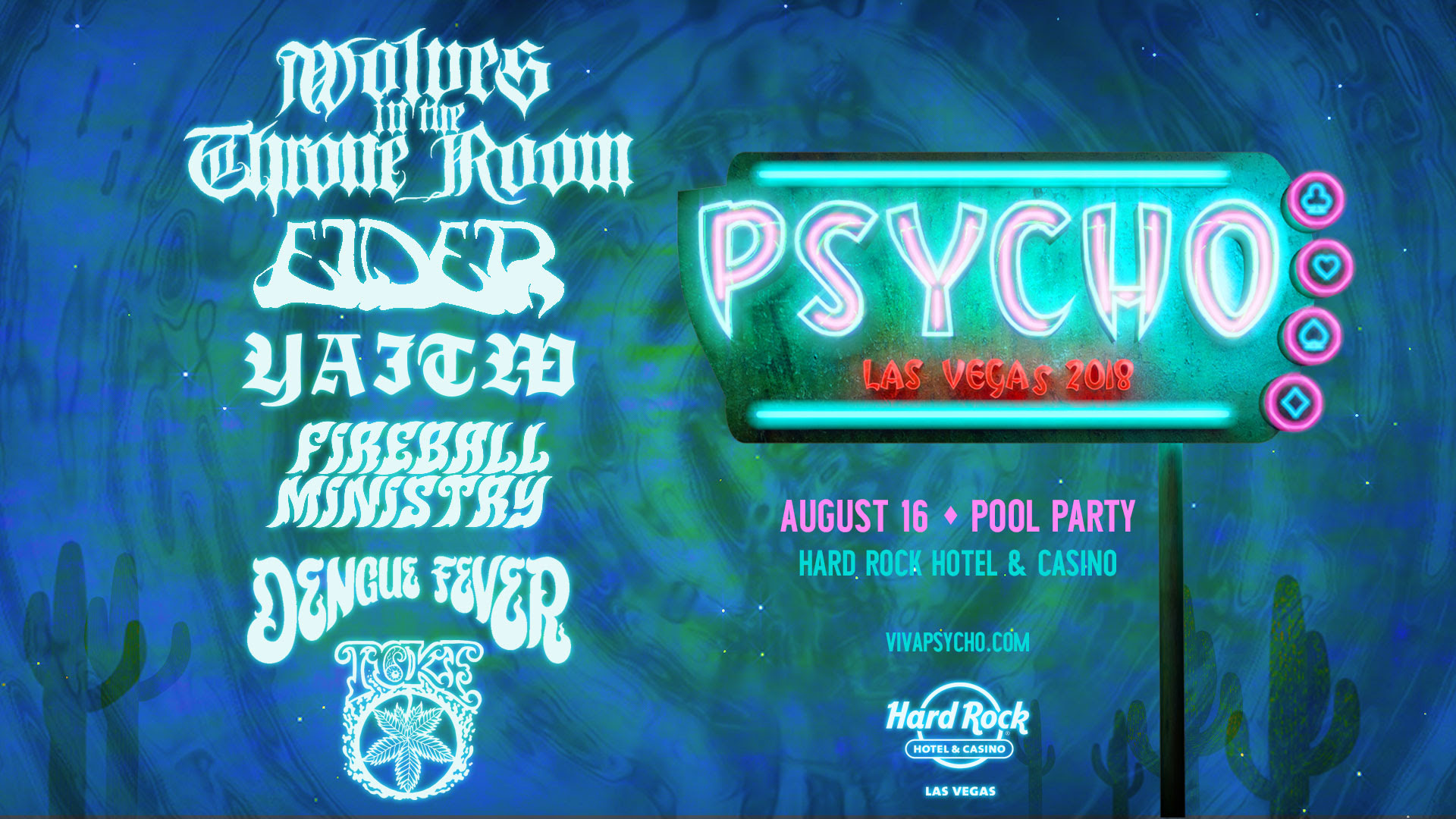 psycho las vegas 2018 pool party