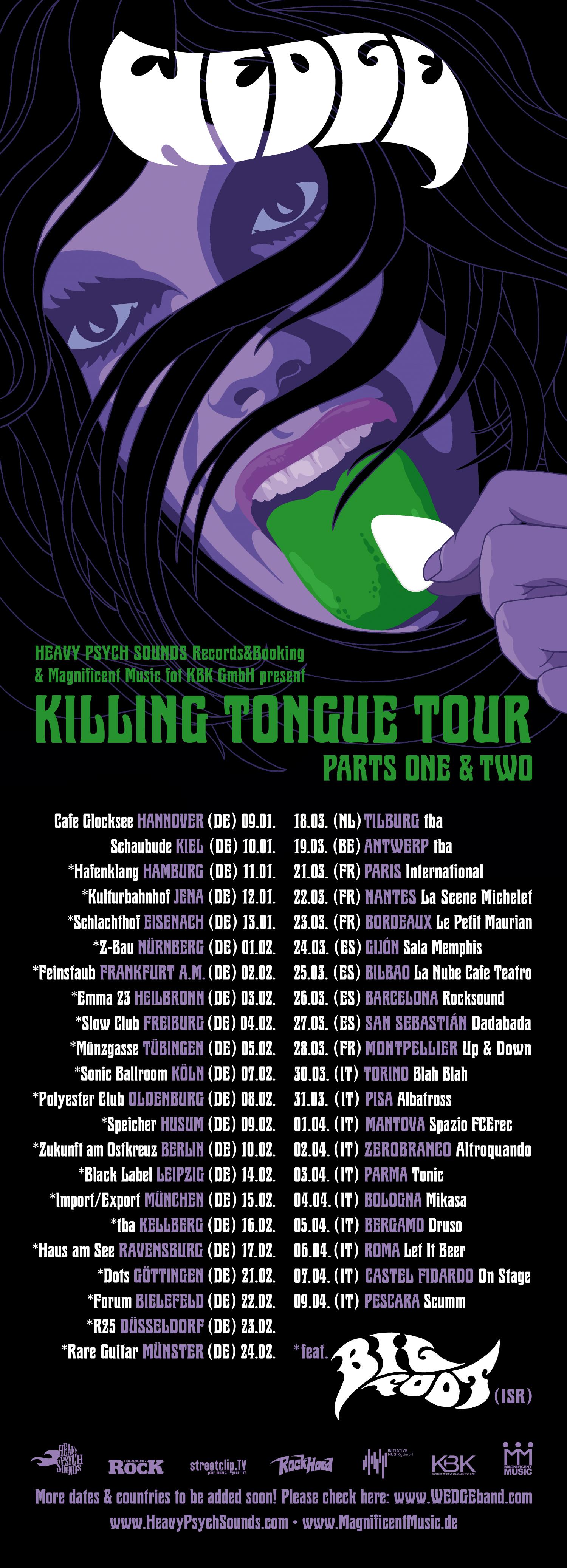 wedge euro tour poster