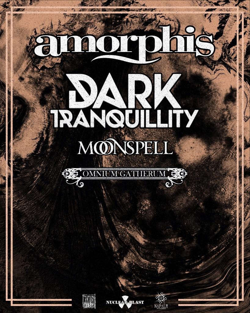 AMORPHIS TOUR POSTER