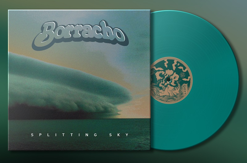 borracho splitting sky vinyl