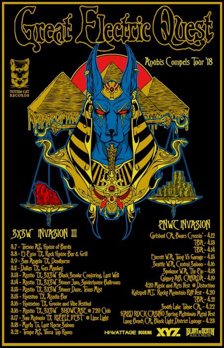 great electric quest Anubis compels Tour final -700