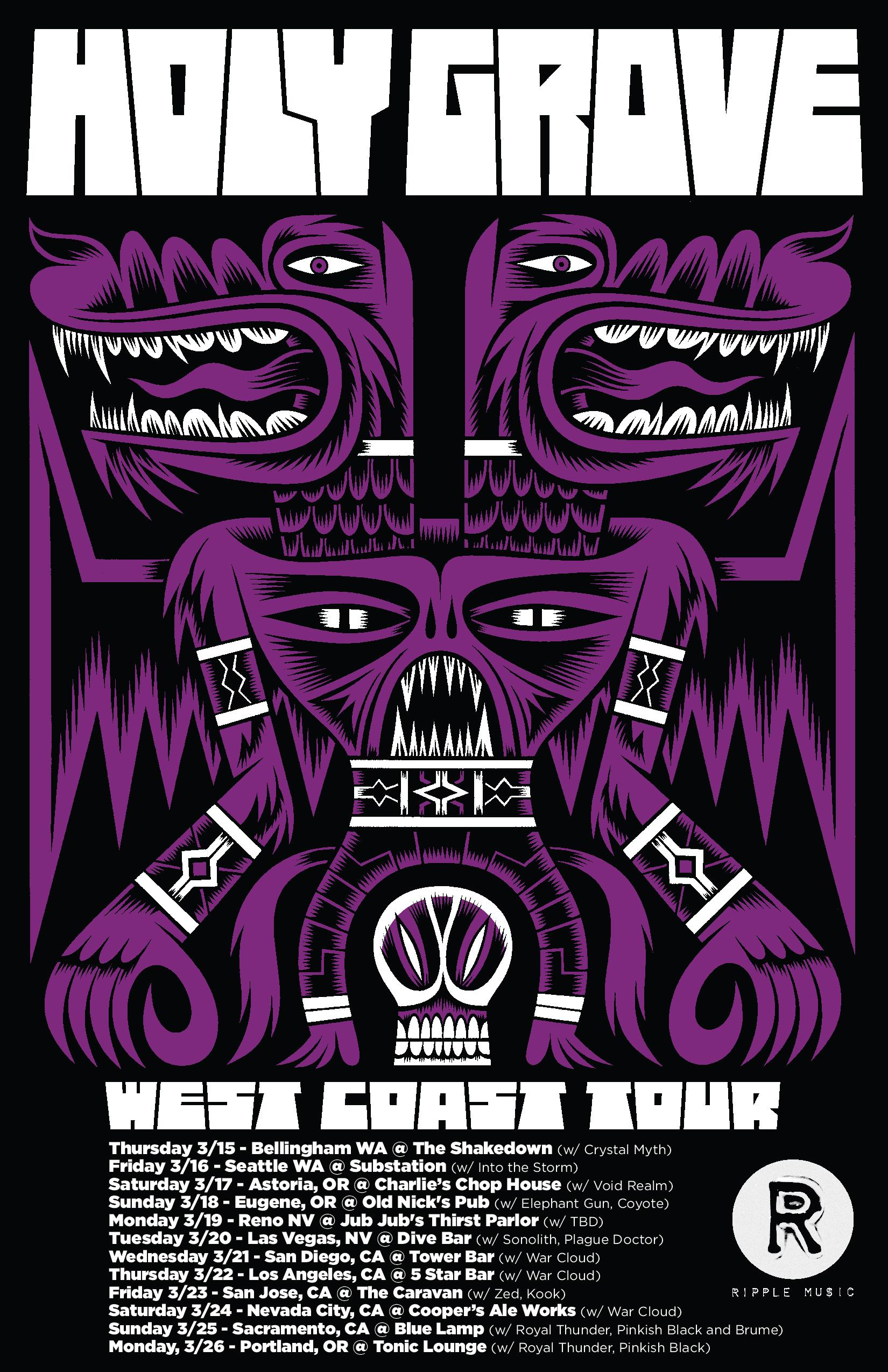 holy grove tour