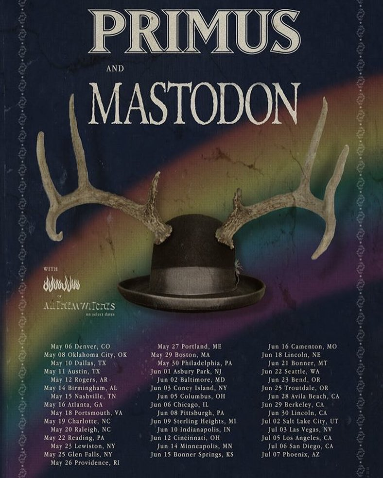 primus mastodon poster