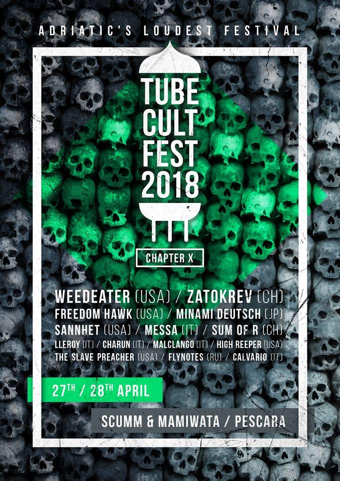 tube cult fest 2018 poster