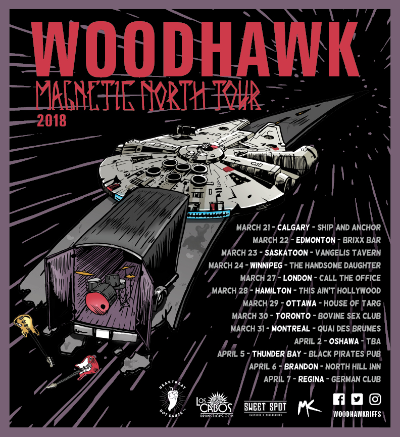 woodhawk magnetic north tour