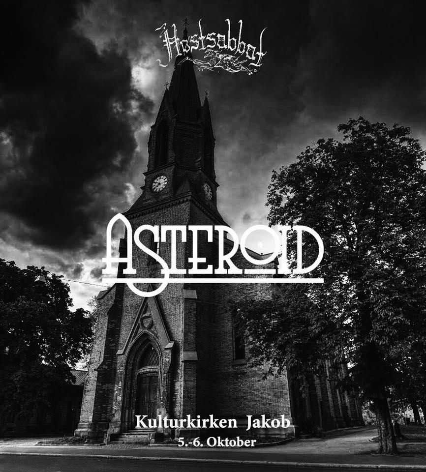 ASTEROID HOSTSABBAT 2018