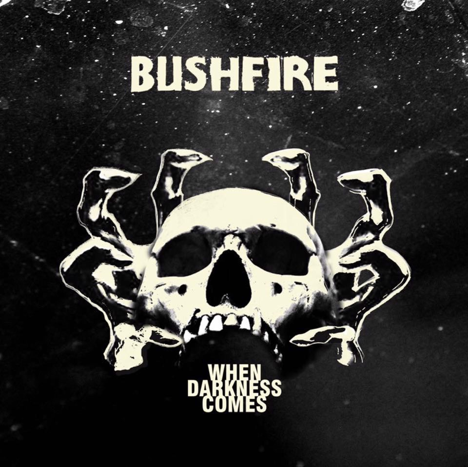 bushfire when darkness comes