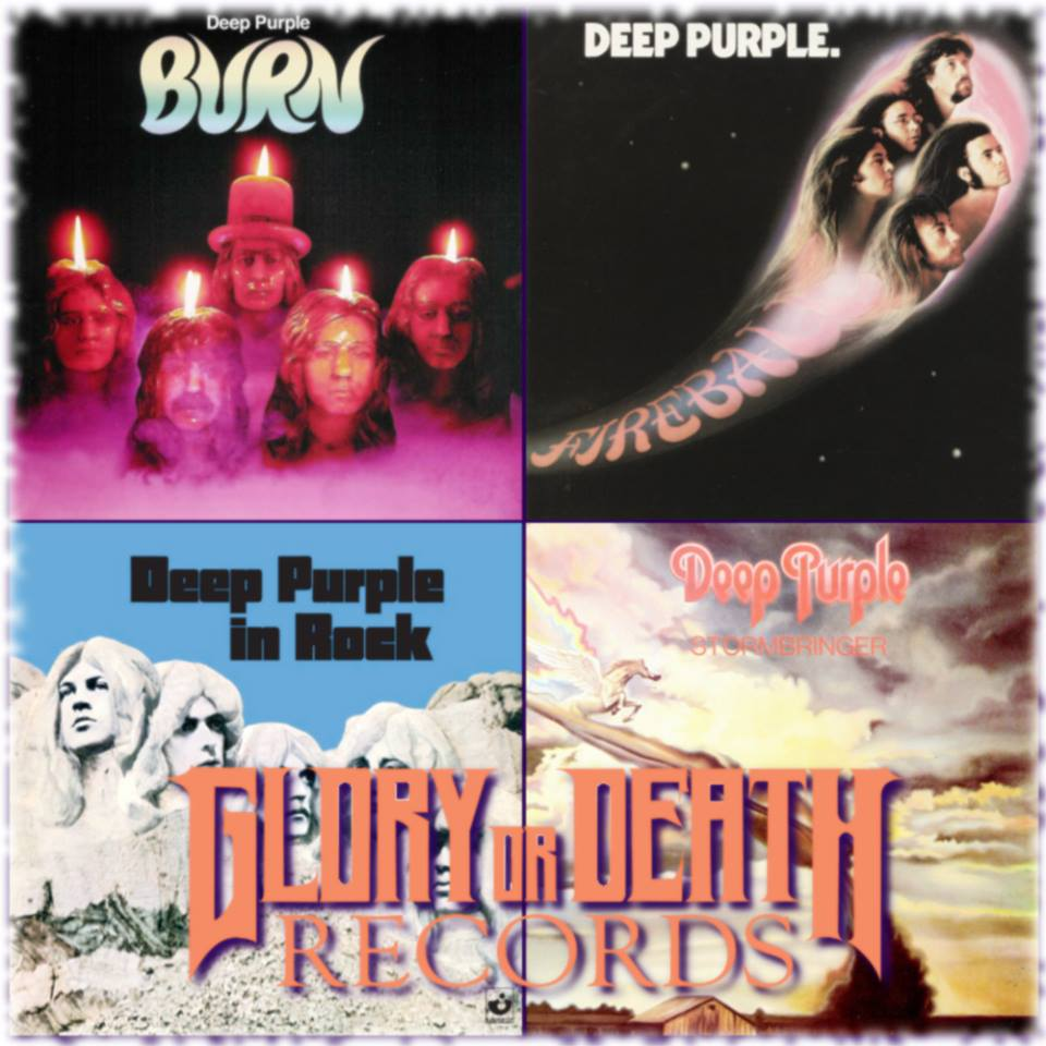 glory or death records bow to your masters deep purple