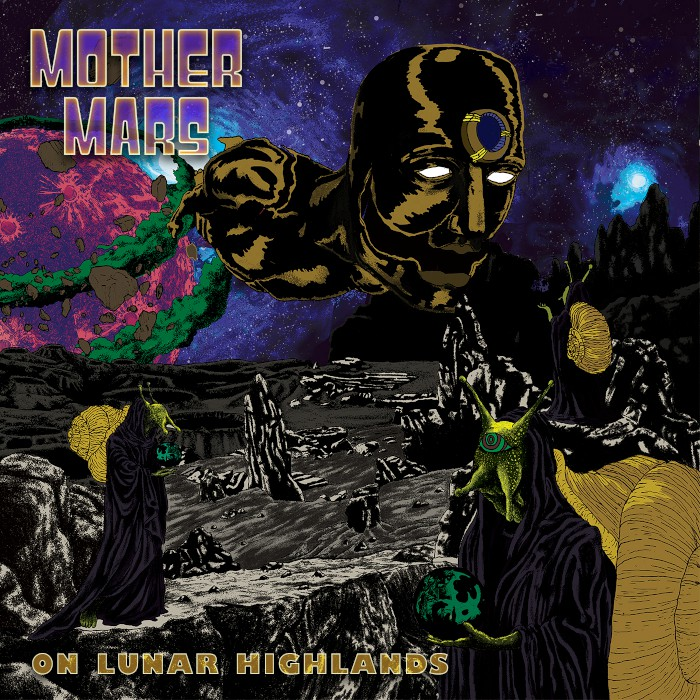 mother mars on lunar highlands