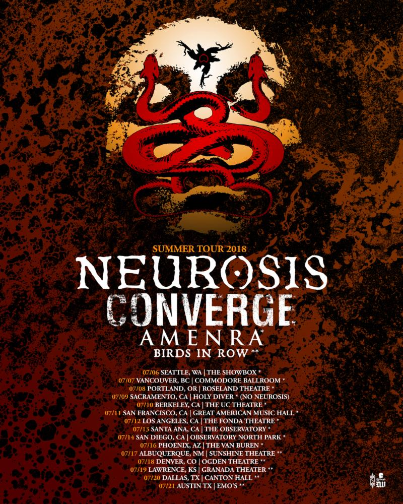 neurosis converge amenra poster