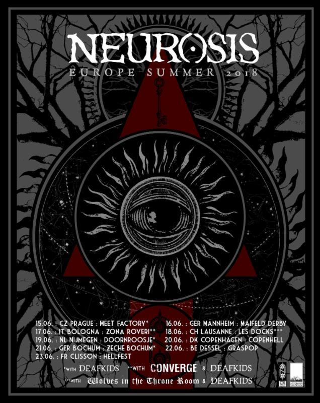 neurosis euro tour poster