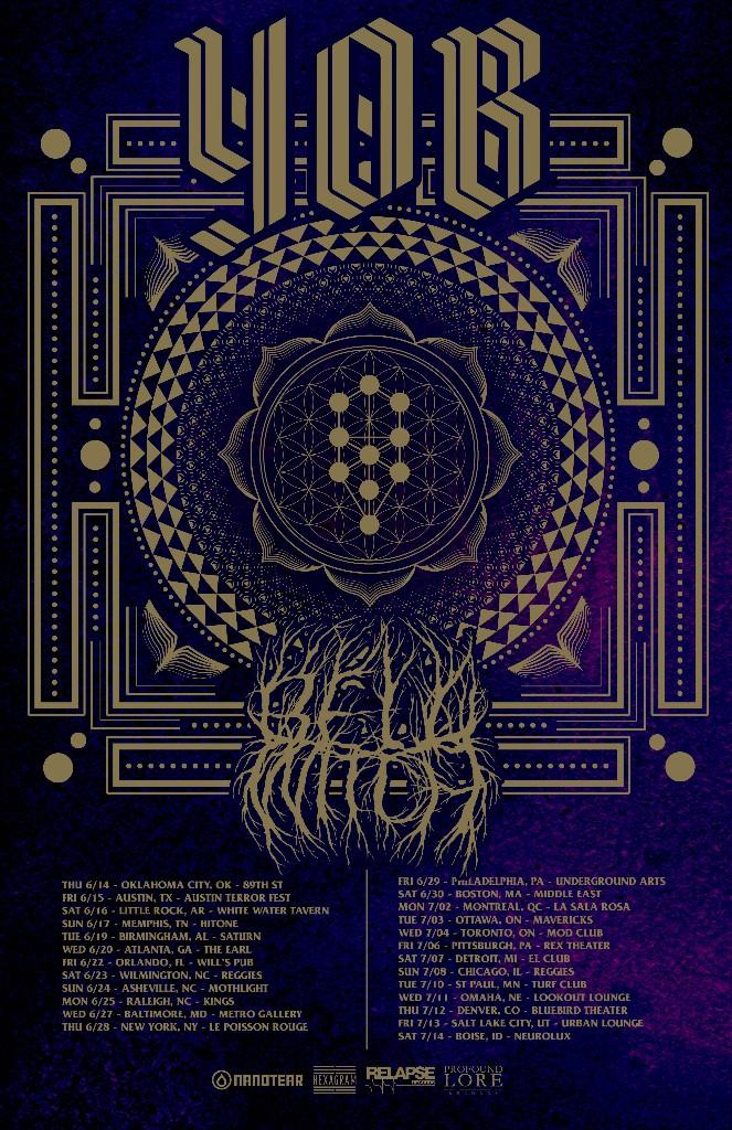 yob tour poster