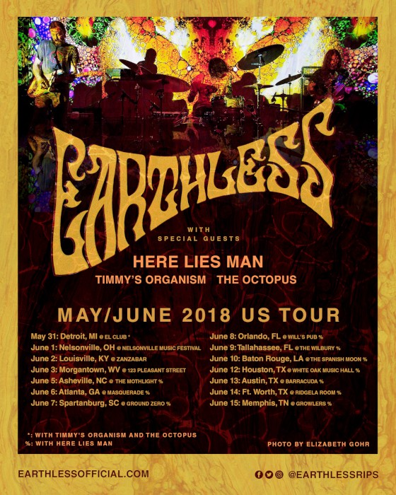 earthless tour