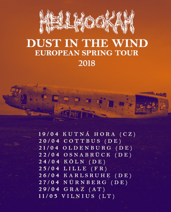 hellhookah tour poster