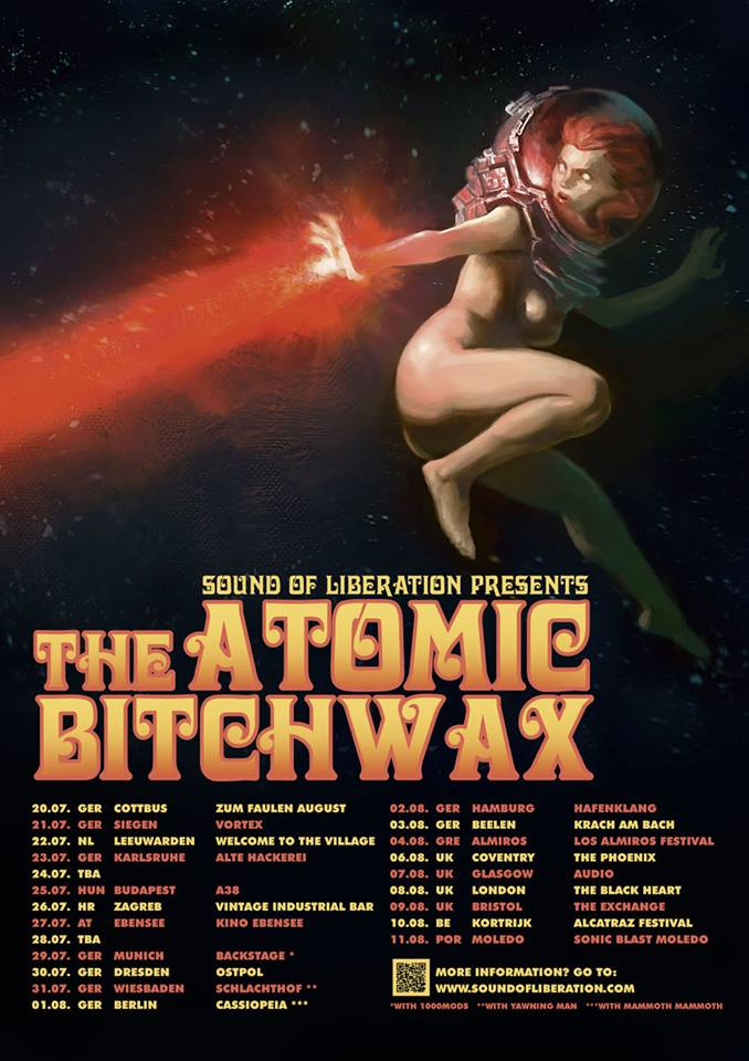 the atomic bitchwax tour
