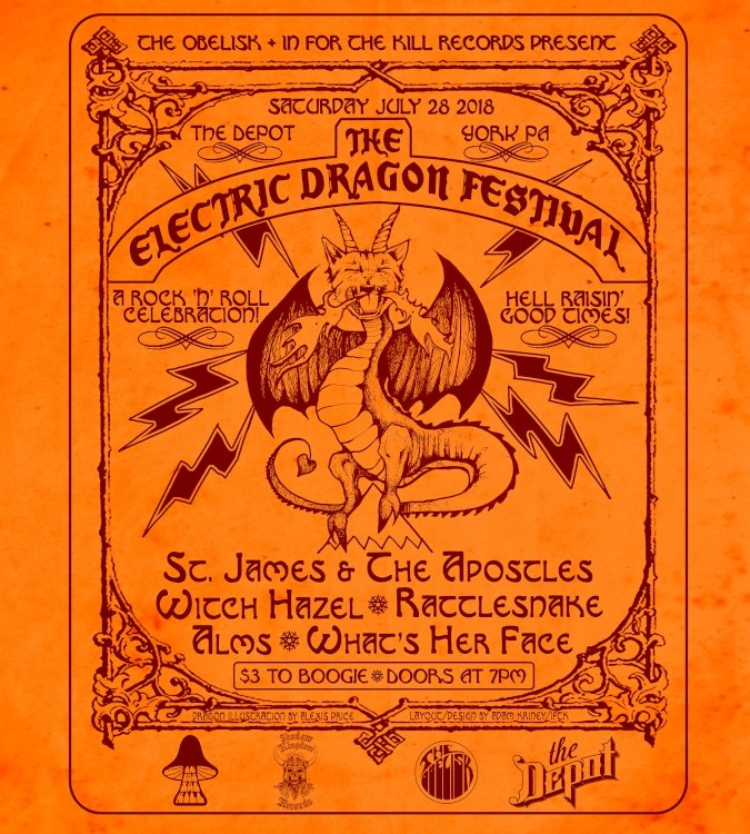 Electric Dragon Festival poster