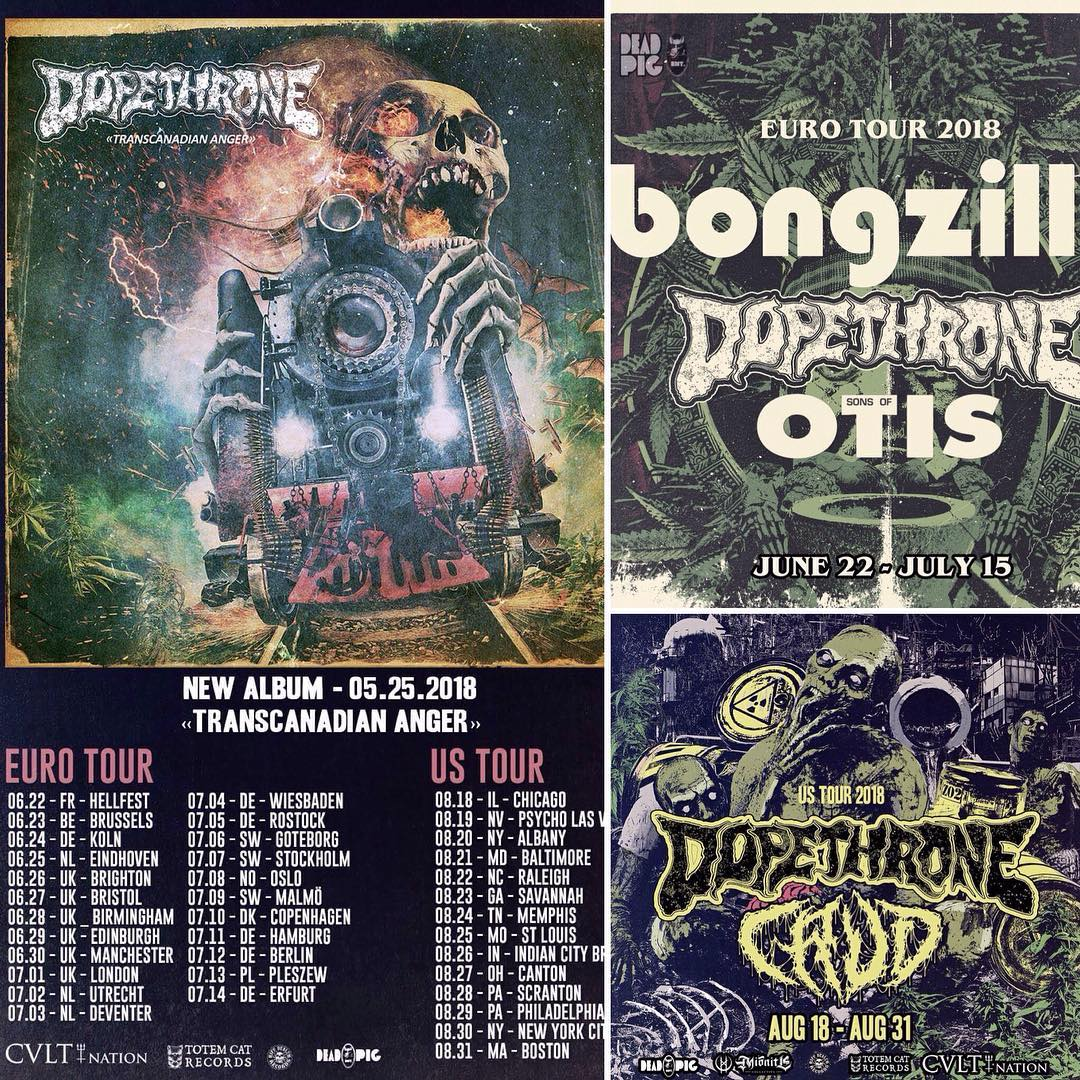 dopethrone tour posters
