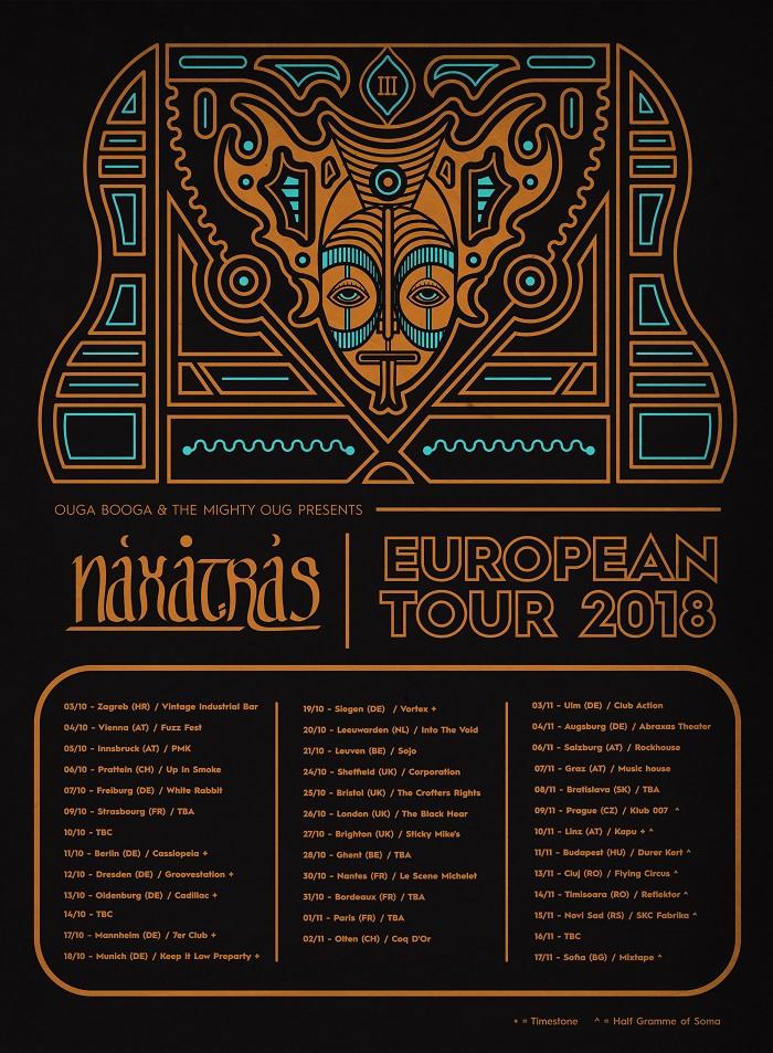 naxatras tour poster