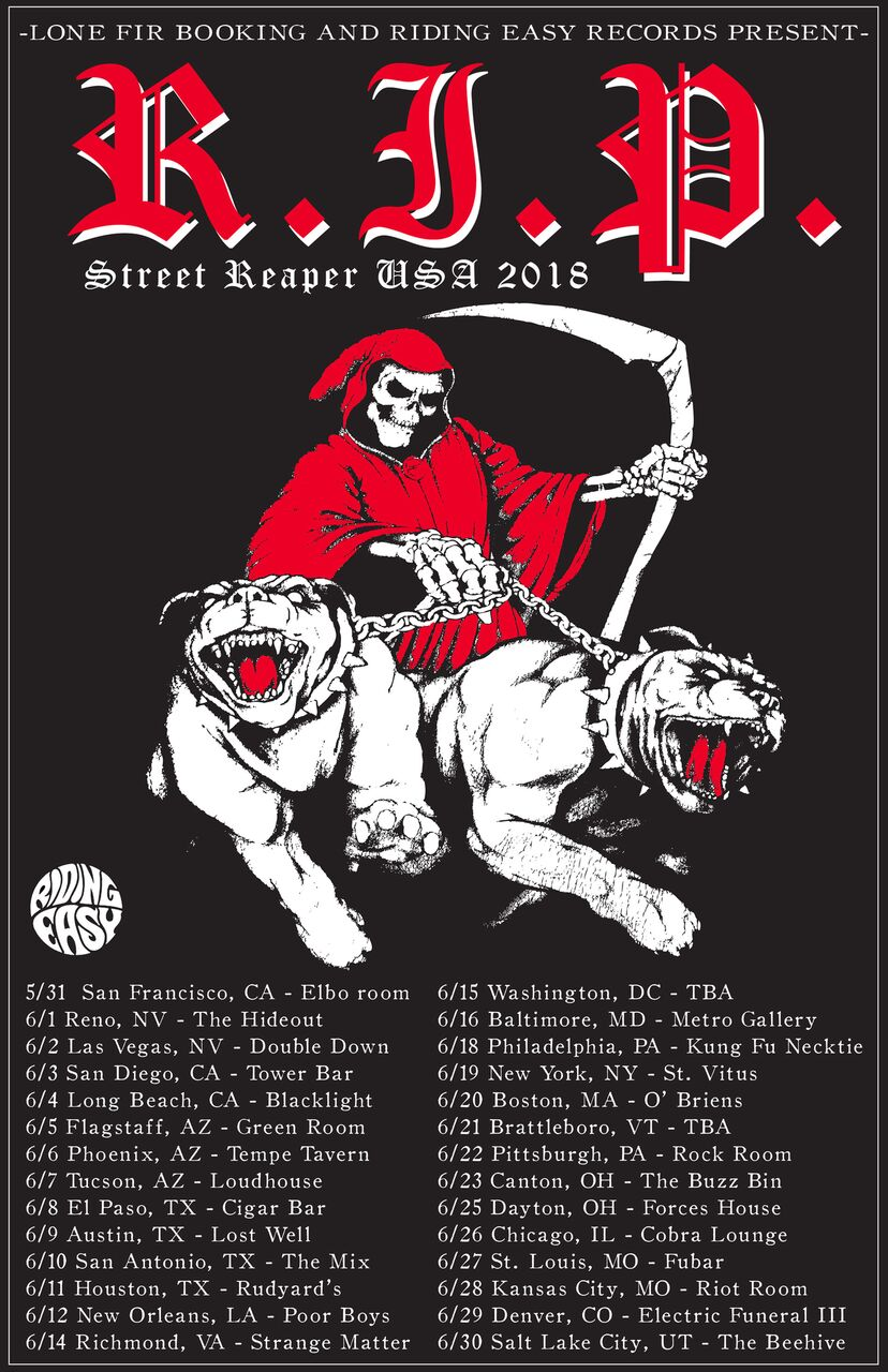 rip tour poster