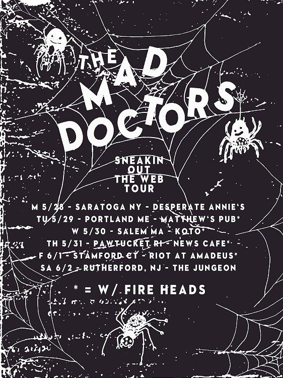 the mad doctors tour