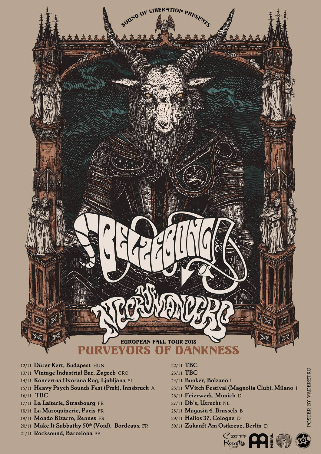 belzebong the necromancers tour