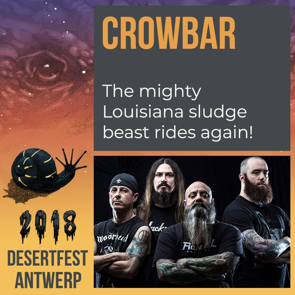 desertfest belgium 2018 crowbar