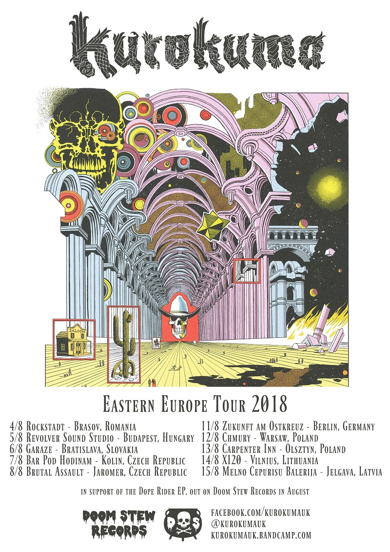 kurokuma eastern europe tour