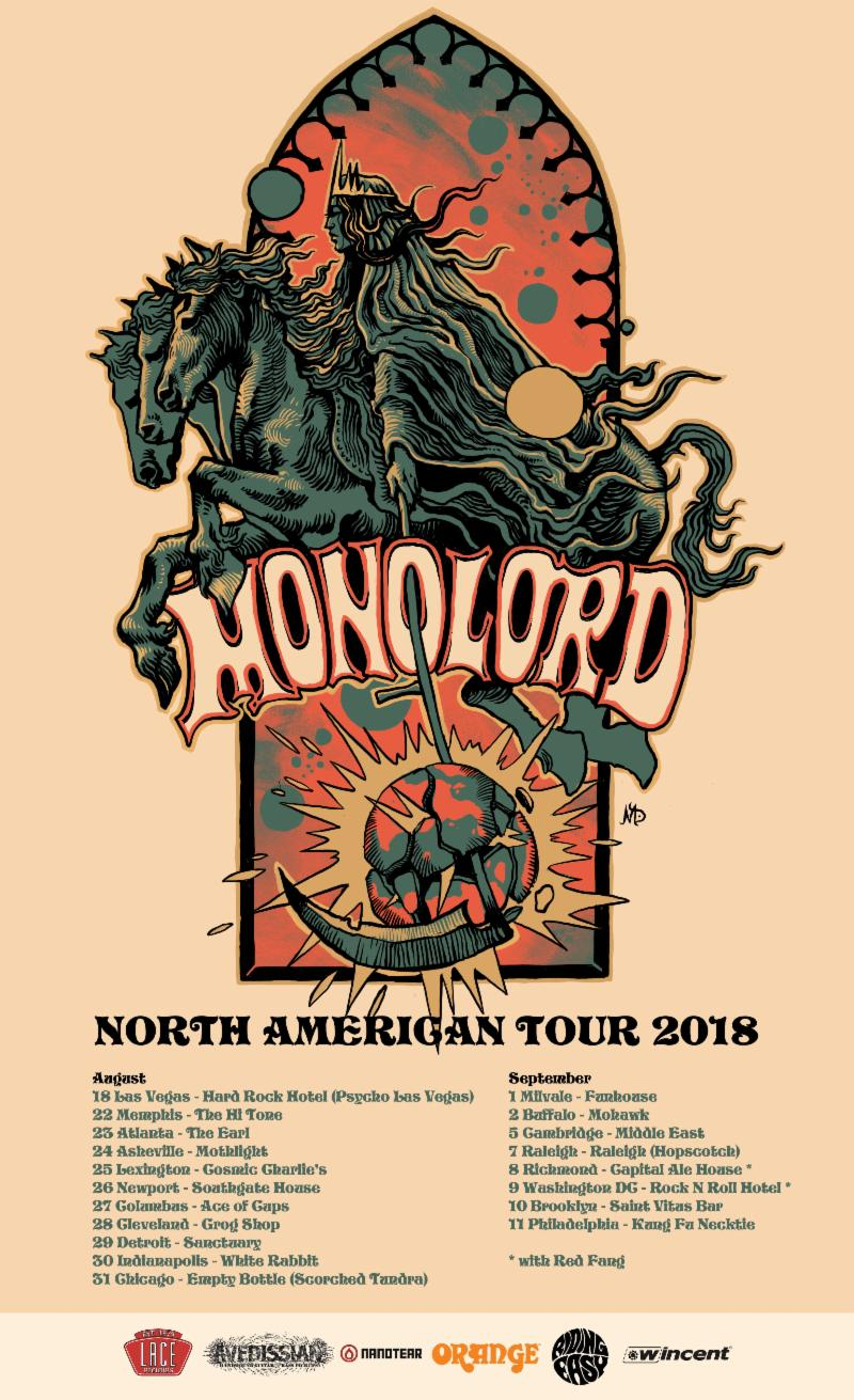 monolord headlining tour