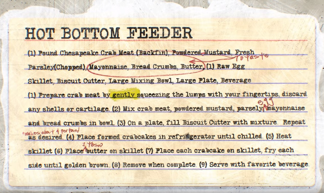 clutch hot bottom feeder recipe
