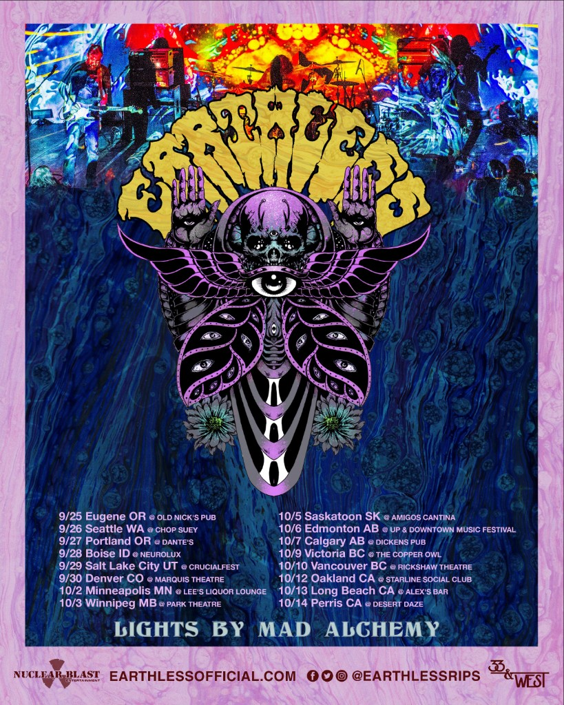 earthless tour poster