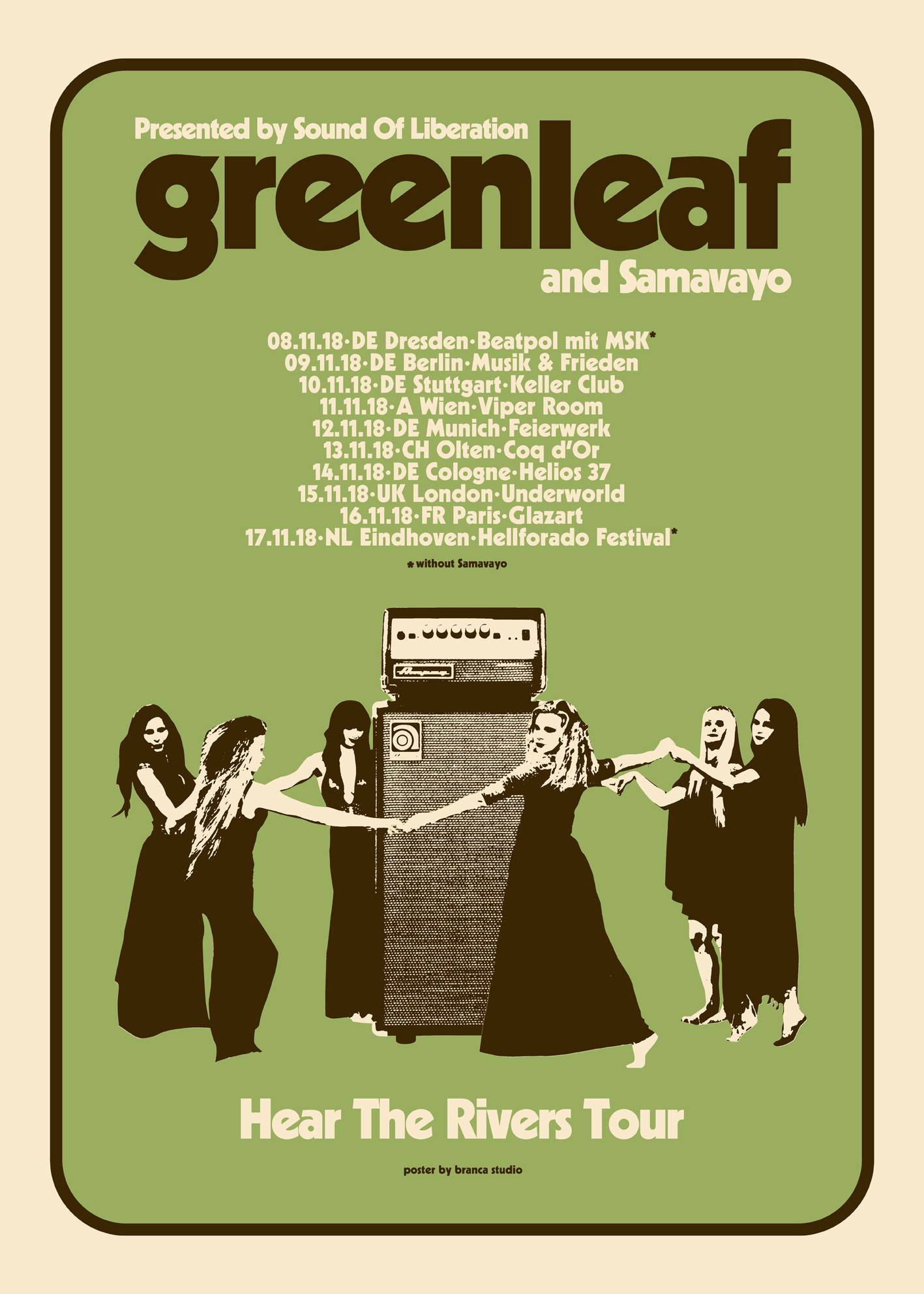 greenleaf samavayo tour