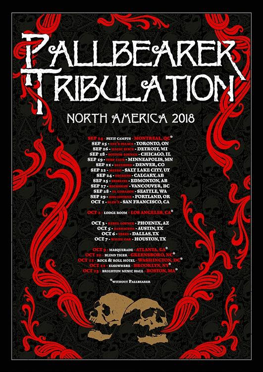 pallbearer tribulation tour