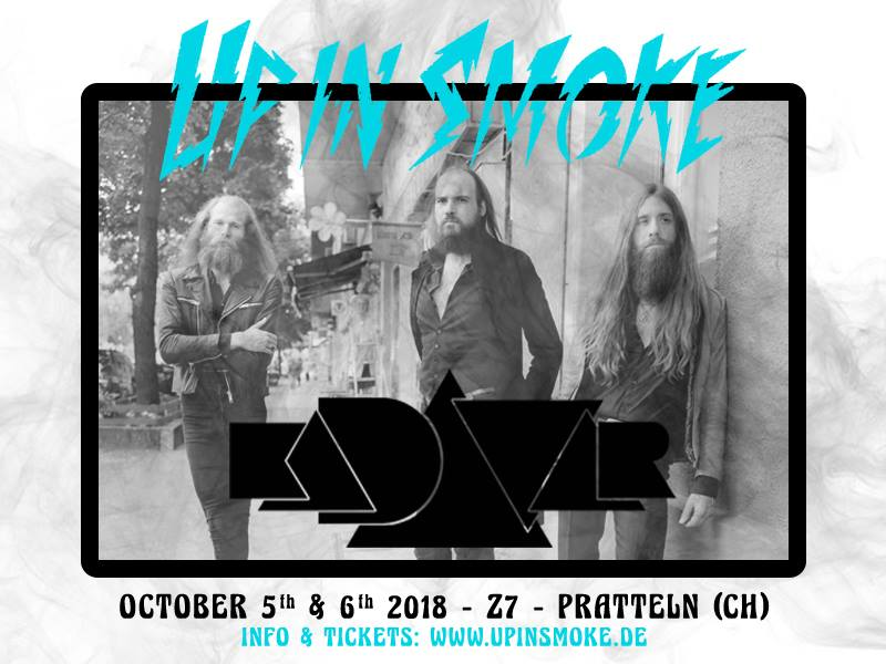 up in smoke 2018 kadavar