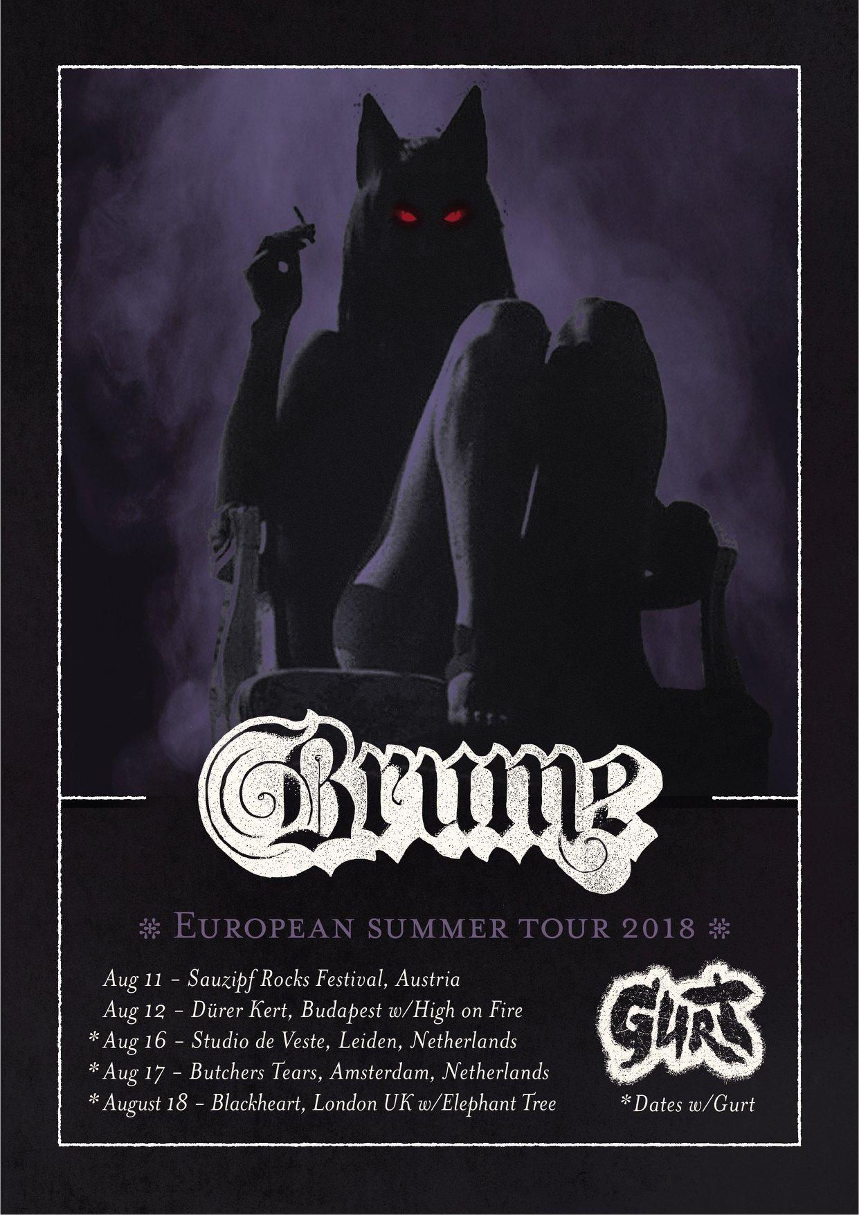 brume european tour poster