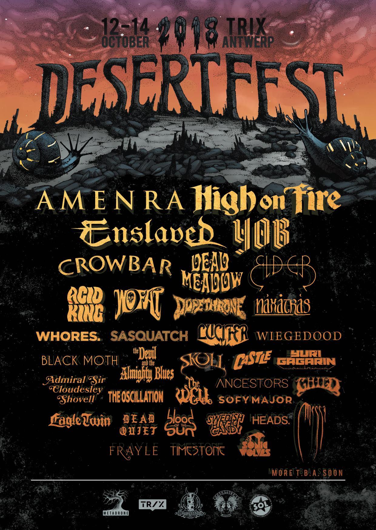 desertfest belgium 2018 poster