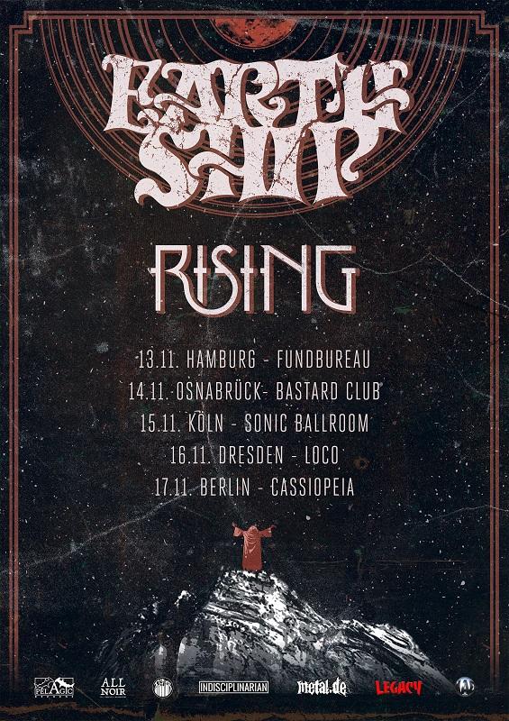 earth ship rising tour