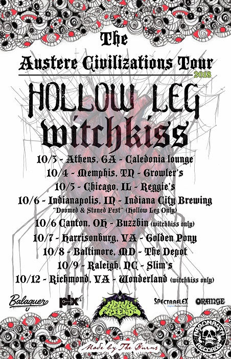 hollow leg witchkiss tour