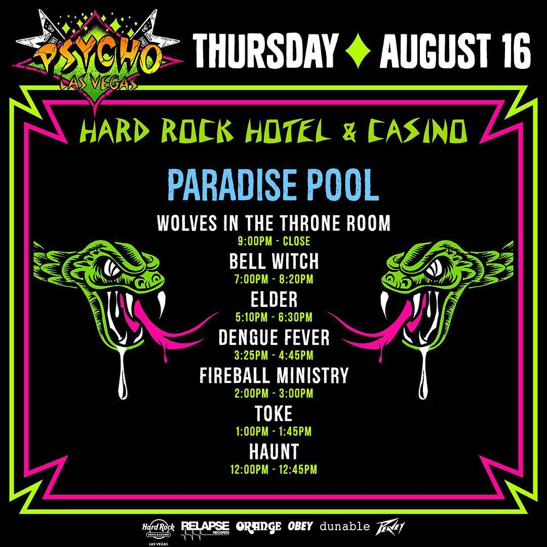 psycho las vegas 2018 thursday