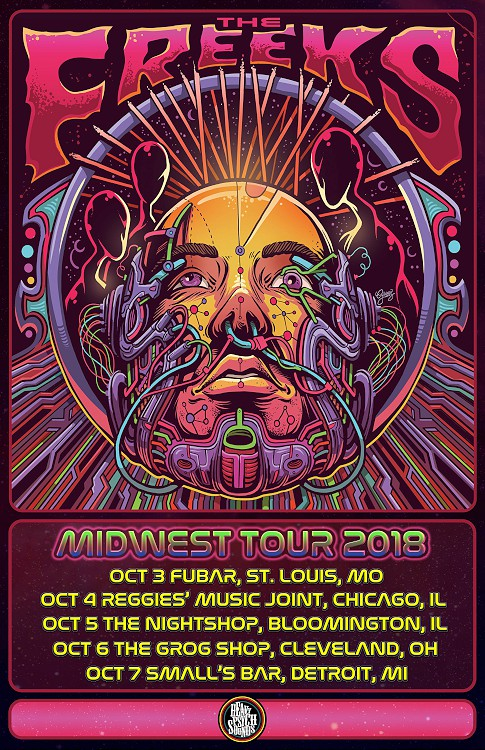 the freeks midwest tour