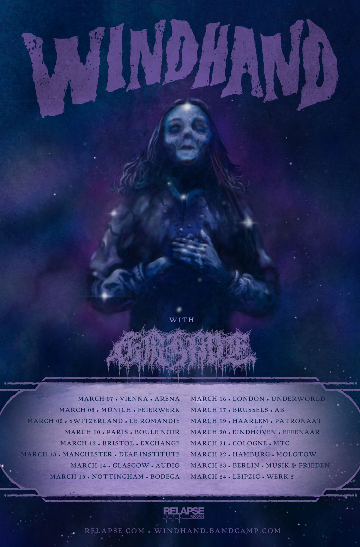 windhand euro tour