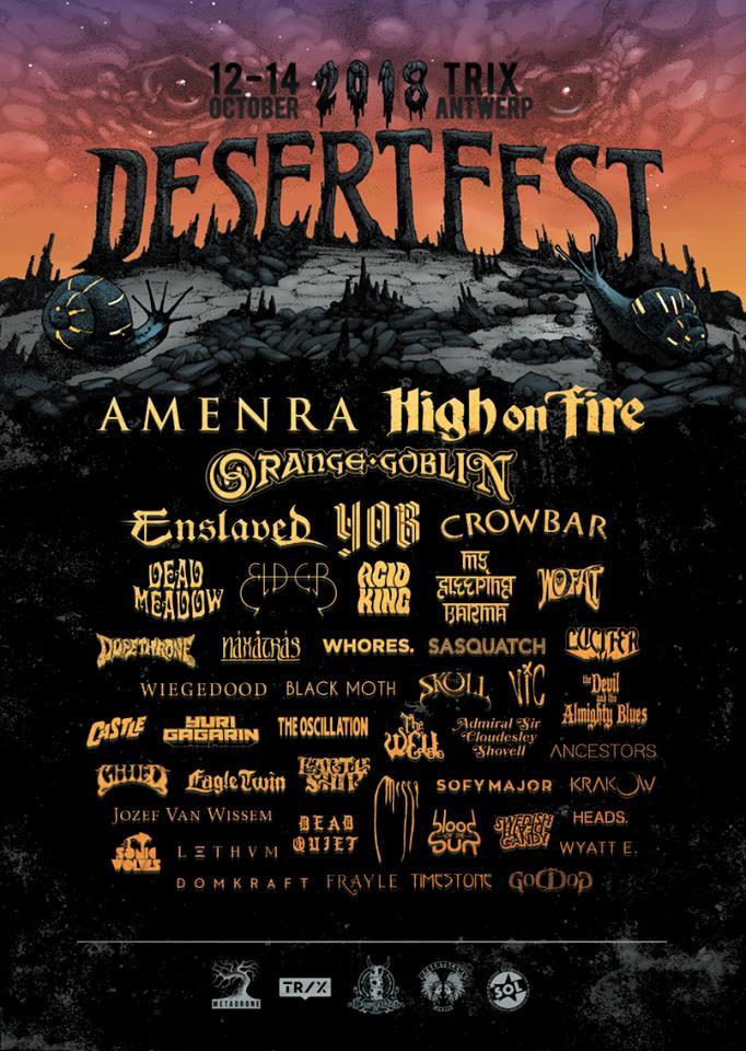 desertfest belgium 2018 final lineup
