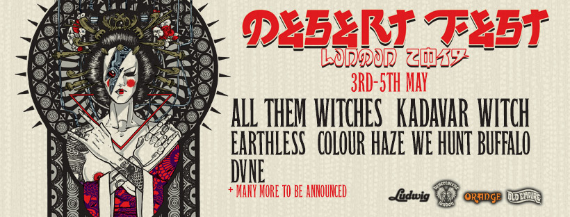 desertfest london 2019 banner